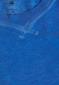 G-Star - RECYCLED DYE OPTIC SLIM - Top - recycrom deep true blue - 2