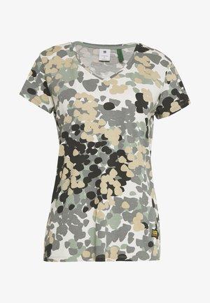 GYRE - Print T-shirt - khaki/olive