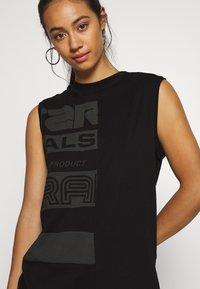 G-Star - HALF ORIGINALS GR LOOSE R T WMN SLS - Camiseta estampada - black - 5