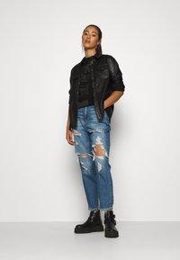 G-Star - HALF ORIGINALS GR LOOSE R T WMN SLS - Camiseta estampada - black - 1