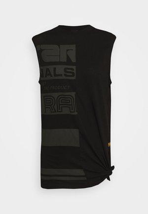 HALF ORIGINALS GR LOOSE R T WMN SLS - Print T-shirt - black