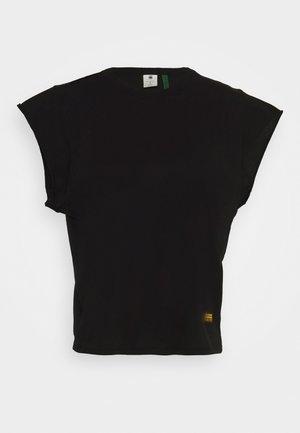 GSRAW GYRE KNOT - Print T-shirt - black