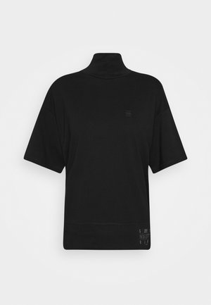 CARRN LOOSE FUNNEL - Print T-shirt - black