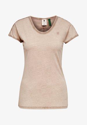 EYBEN - T-Shirt basic - lt skin gd