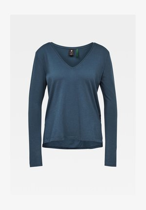 CORE STRAIGHT - Long sleeved top - vintage navy