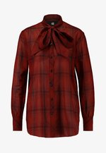 DELINE BOYFRIEND BOW - Skjorte - red
