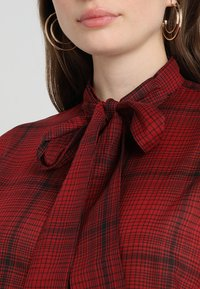 G-Star - DELINE BOYFRIEND BOW - Skjorte - red - 5