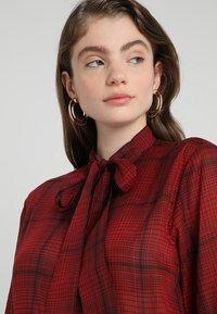 G-Star - DELINE BOYFRIEND BOW - Skjorte - red - 3