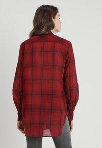 G-Star - DELINE BOYFRIEND BOW - Skjorte - red - 2