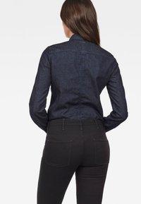 G-Star - 3301 SHIRT - Button-down blouse - blue denim - 1