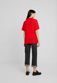 G-Star - DISEM LOOSE R T WMN S/S - T-shirt med print - acid red - 2