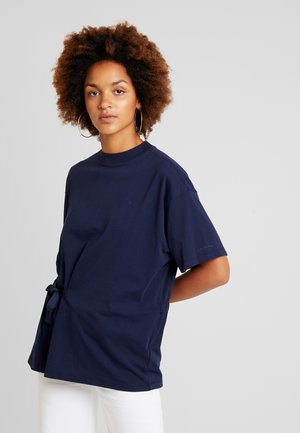DISEM LOOSE R T WMN S/S - T-shirt con stampa - mazarine blue