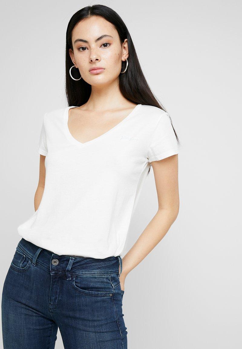 G-Star - GRAPHIC 2 V T WMN S\S - T-shirt basic - milk