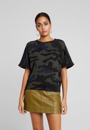 GRAPHIC 16 JOOSA V T S/S - T-shirt basique - black/grey