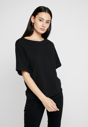 GRAPHIC 16 JOOSA V T S/S - T-shirt basic - dk black
