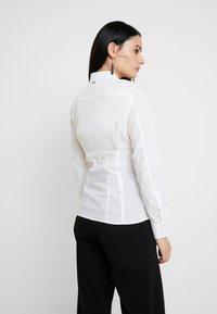 G-Star - SYENITE SLIM BOW SHIRT WMN L\S - Skjorte - white - 2