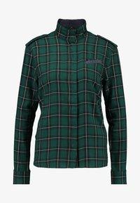G-Star - LANC STRAIGHT SHIRT WMN L\S - Overhemdblouse - vermont pine/dark black - 4