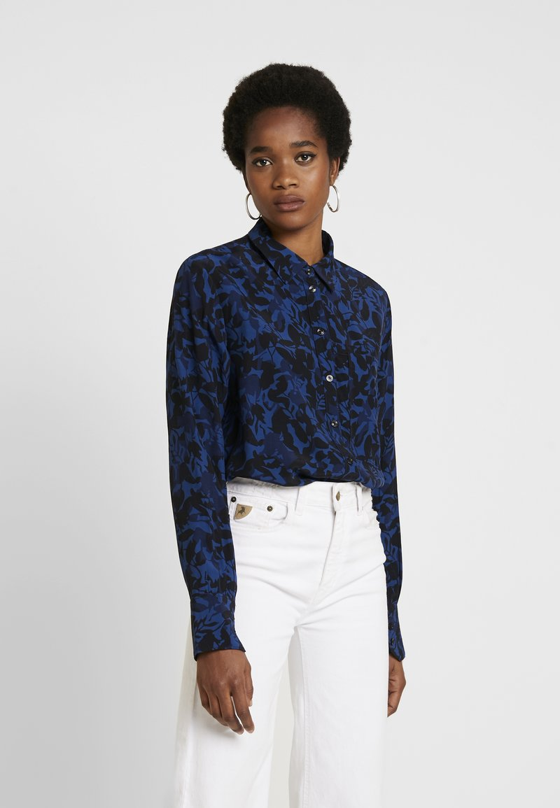 G-Star - CORE STRAIGHT SHIRT - Button-down blouse - pacific