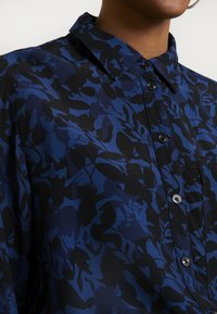 G-Star - CORE STRAIGHT SHIRT - Button-down blouse - pacific - 5