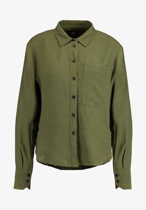 CORE STRAIGHT SHIRT - Overhemdblouse - combat