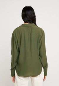 G-Star - CORE STRAIGHT SHIRT - Button-down blouse - combat - 2