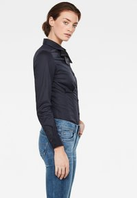 G-Star - SYENITE SLIM BOW - Overhemdblouse - mazarine blue