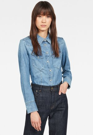 TACOMA STRAIGHT - Button-down blouse - light blue