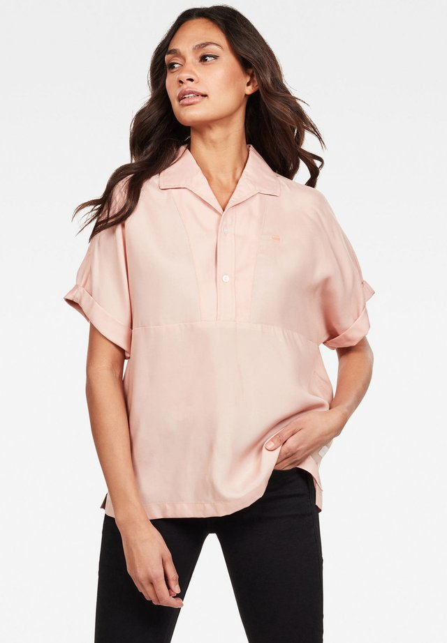 POLO SHIRT WMN S\S PINK ORCHID WOMEN - Blouse - pink orchid