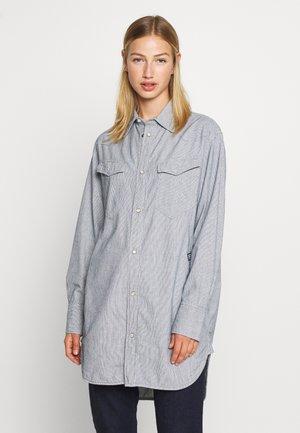 TACOMA  - Button-down blouse - sun faded indigo stripe