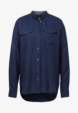 PAROTA CLASSIC BF SHIRT WMN L\S RINSED WOMEN - Overhemdblouse - blue denim