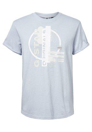ORIG CIRCLE LASH LOOSE - T-shirt print - dk laundry blue