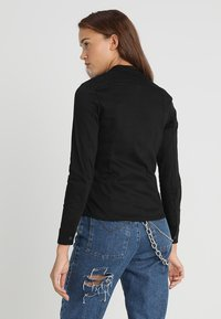 G-Star - LYNN LUNAR SLIM - Blouse - lt wt slander stay black ss - 2