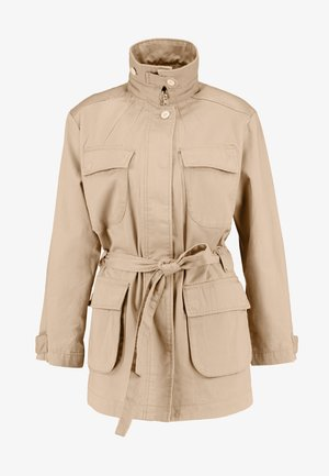 CHISEL A LINE FIELD JACKET - Short coat - sahara