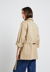 G-Star - CHISEL A LINE FIELD JACKET - Short coat - sahara