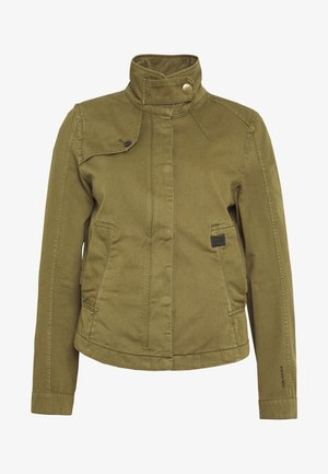 SLIM - Summer jacket - smoke olive