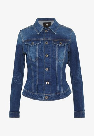 SLIM JACKET - Denim jacket - faded stone