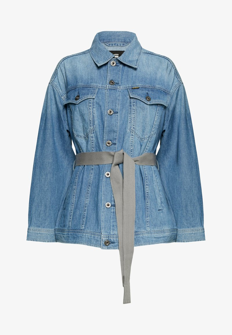 G-Star - REAL BOYFRIEND - Denim jacket - faded orion blue