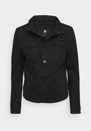 ARC 3D PILOT - Denim jacket - pitch black