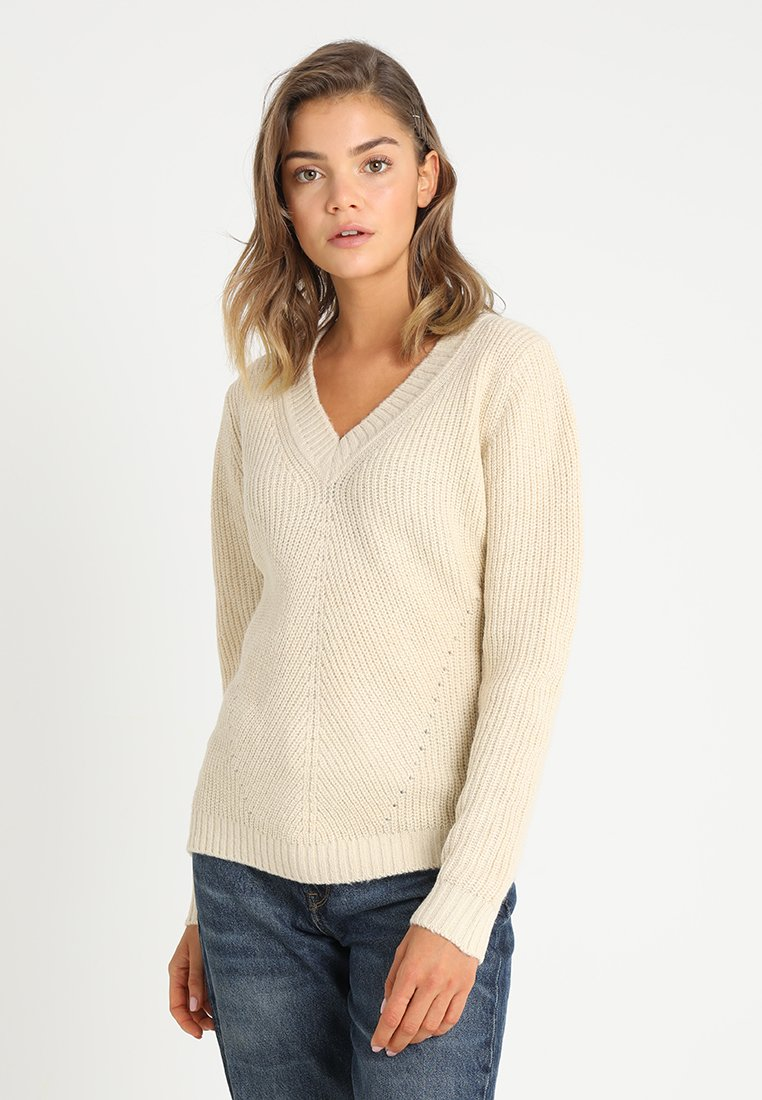 G-Star - VEE KNIT WMN L\S - Jumper - mophil