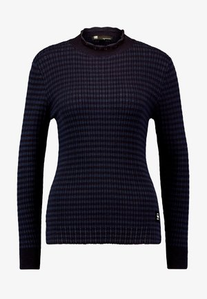 MOCK TURTLE - Jumper - saru blue
