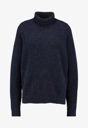 TERRAPIN TURTLE KNIT WMN L\S - Stickad tröja - dark saru blue heather