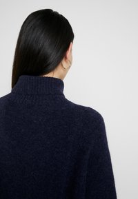 G-Star - TERRAPIN TURTLE KNIT WMN L\S - Jumper - dark saru blue heather - 3