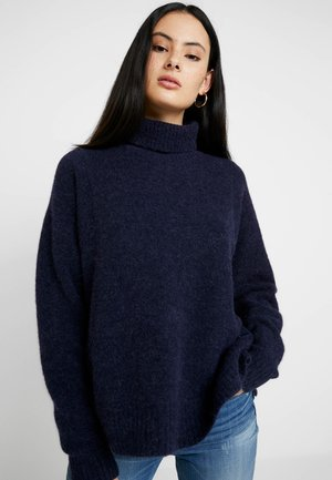 TERRAPIN TURTLE KNIT WMN L\S - Sweter - dark saru blue heather