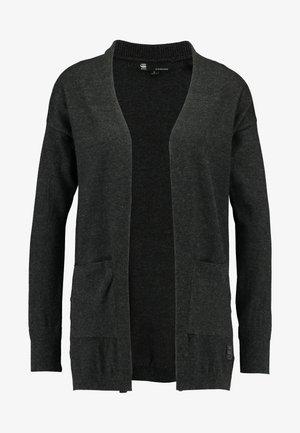 CARDIGAN - Kofta - dark grey heather