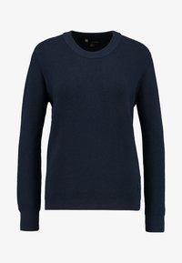 G-Star - KNITR R KNT WMN L\S - Stickad tröja - mazarine blue - 3