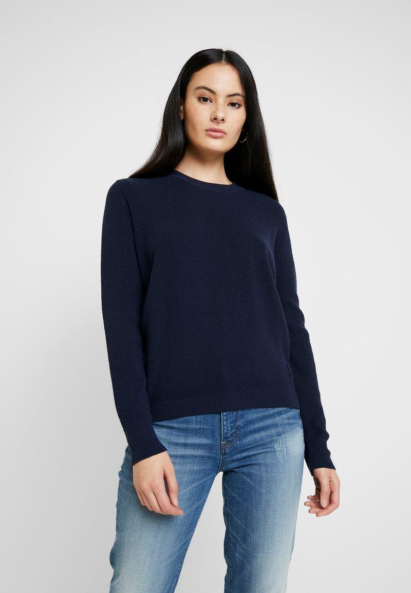 G-Star - KNITR R KNT WMN L\S - Stickad tröja - mazarine blue