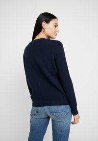 G-Star - KNITR R KNT WMN L\S - Stickad tröja - mazarine blue - 2