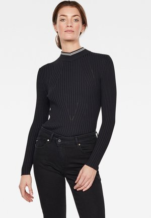 LYNN  - Strickpullover - black