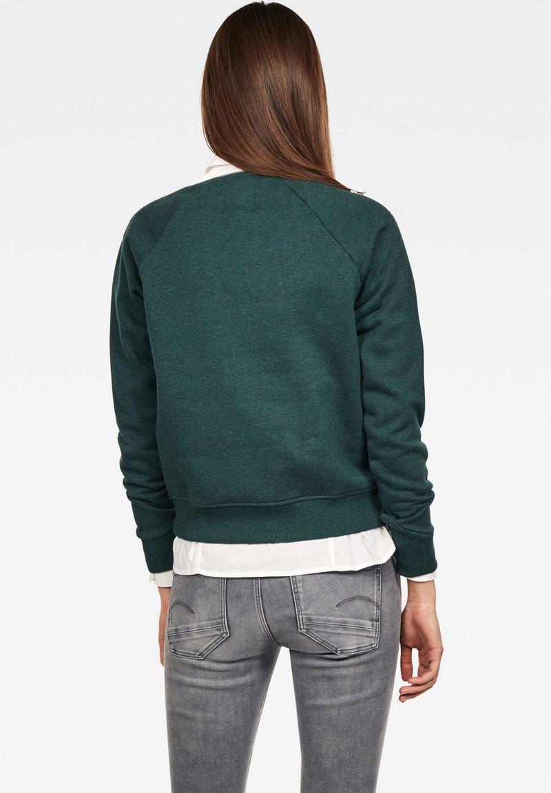 G-Star - XZULA ZIP - Pullover - green