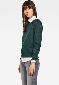 G-Star - XZULA ZIP - Pullover - green - 2